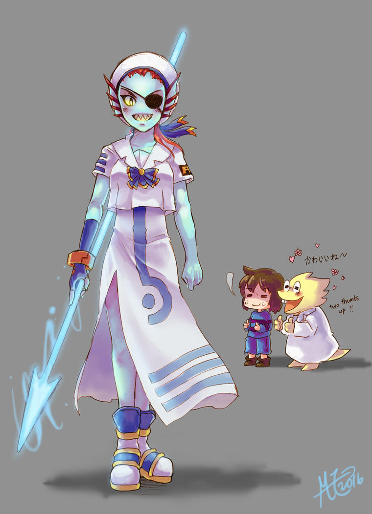 how to easily kill undyne the undying