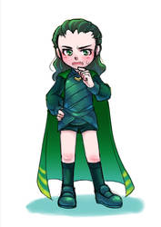 Kid Loki by MZ15