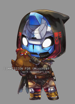 [Commission] Cayde-6