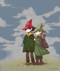 Joxter and Snufkin