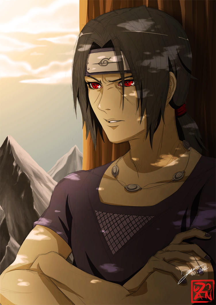 Annoyed Itachi by Dzoan
