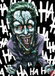 Joker `I'm not mad, just differently sane`