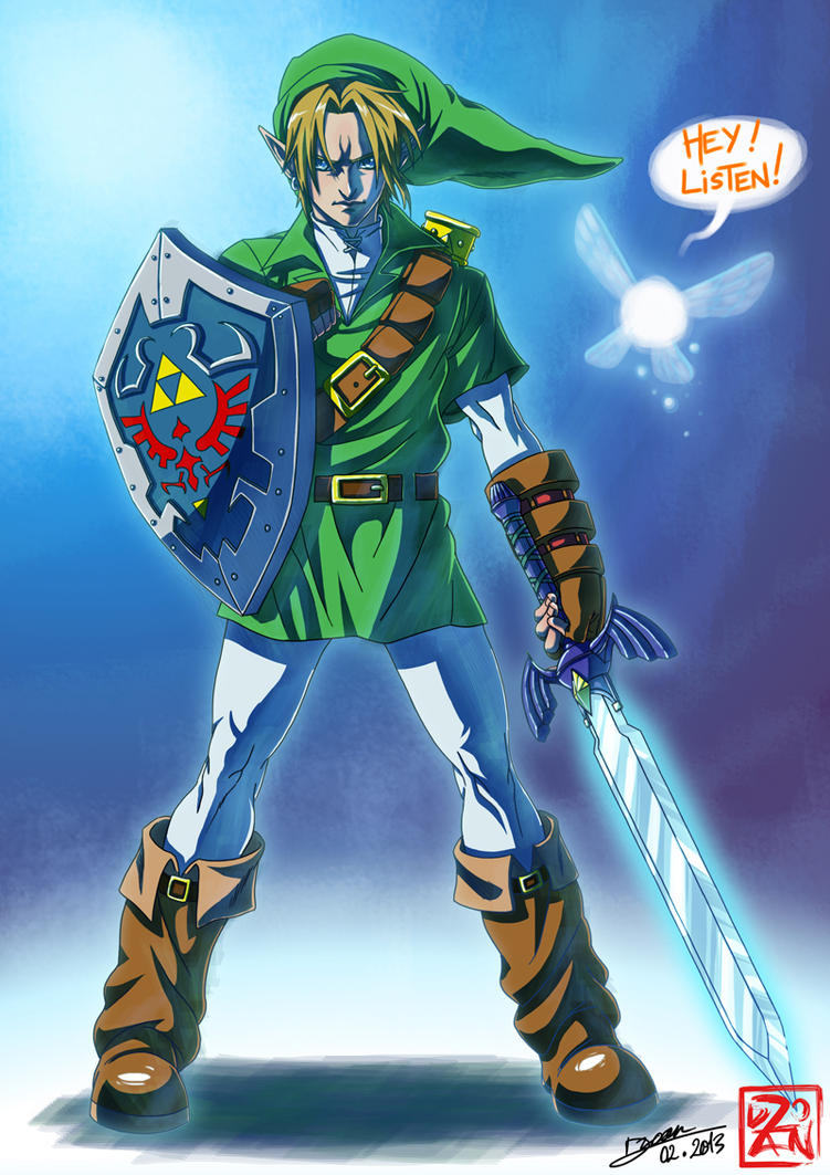 Link the Hero of Time by Dzoan