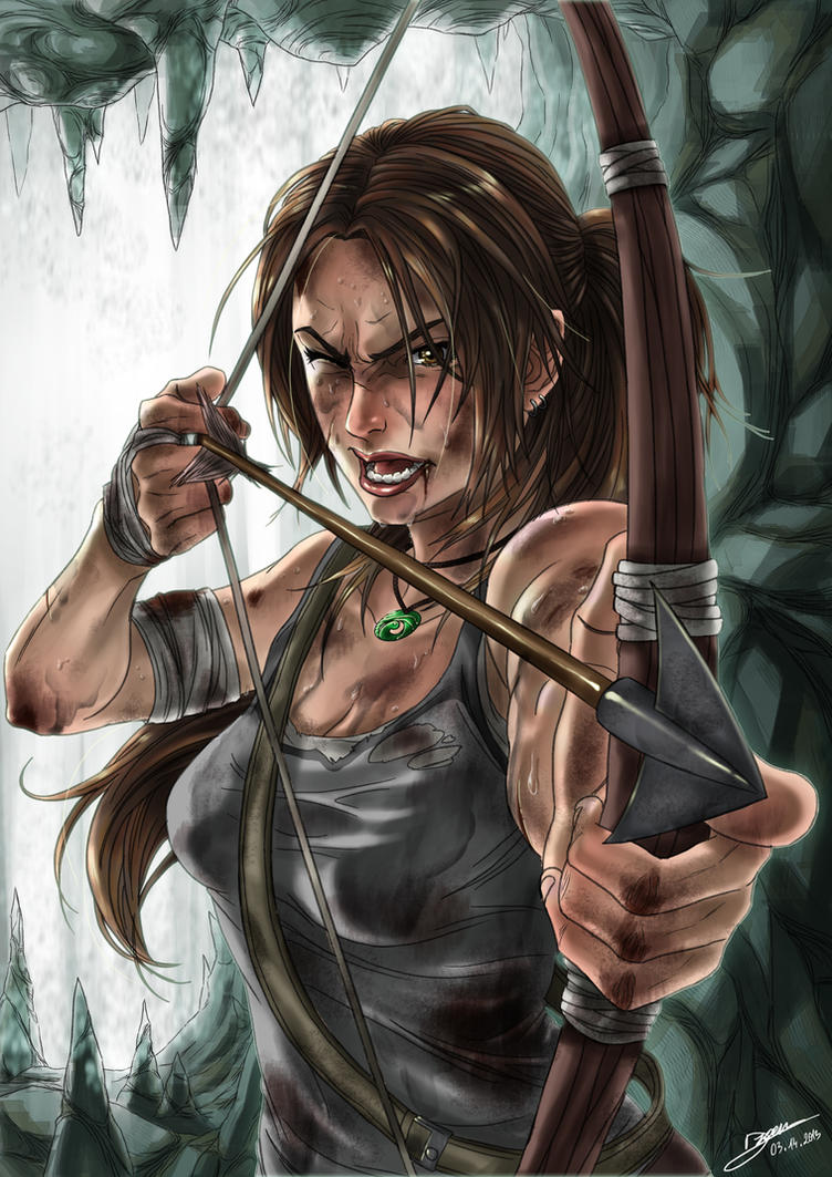 Tomb Raider Reborn contest by Dzoan