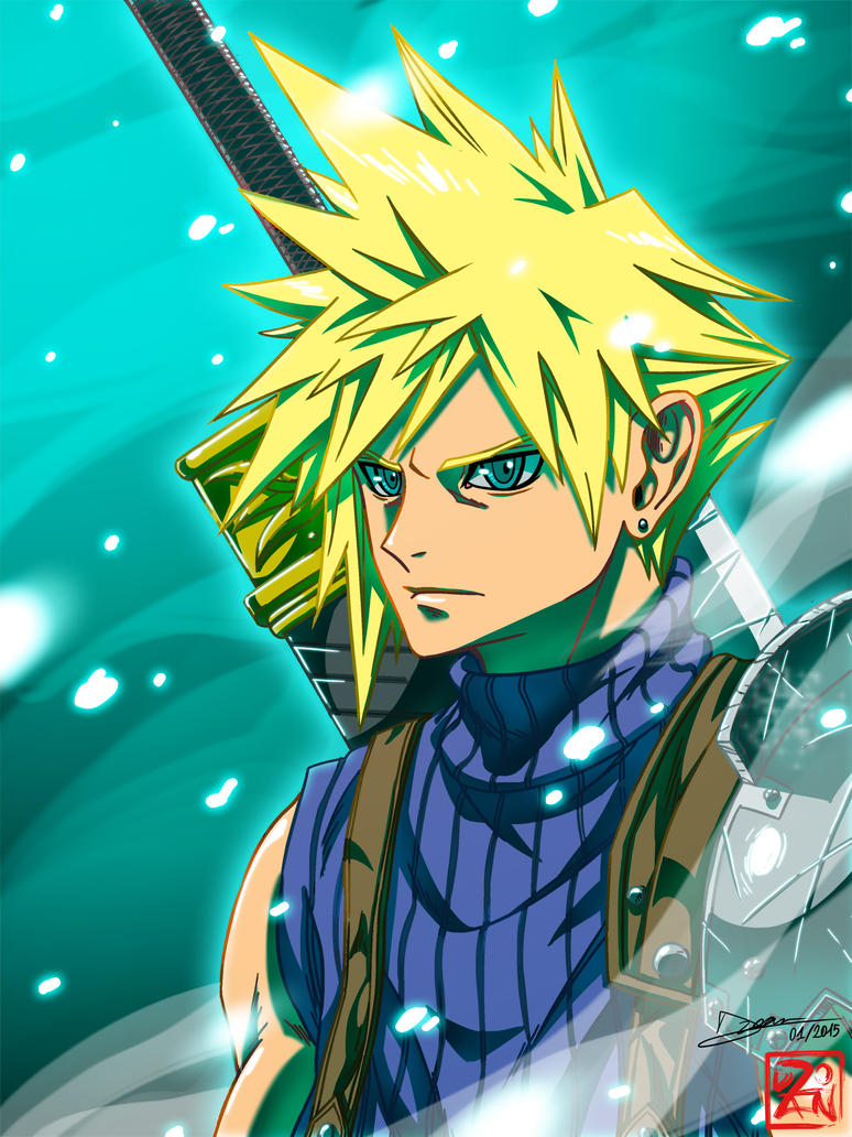 Cloud Strife by Dzoan