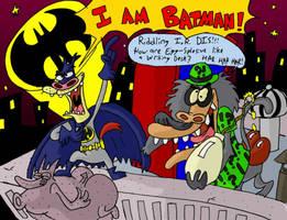I. M. Batman and I. R. Riddler by mightyfilm