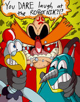 Don't Anger THE Robotnik by mightyfilm