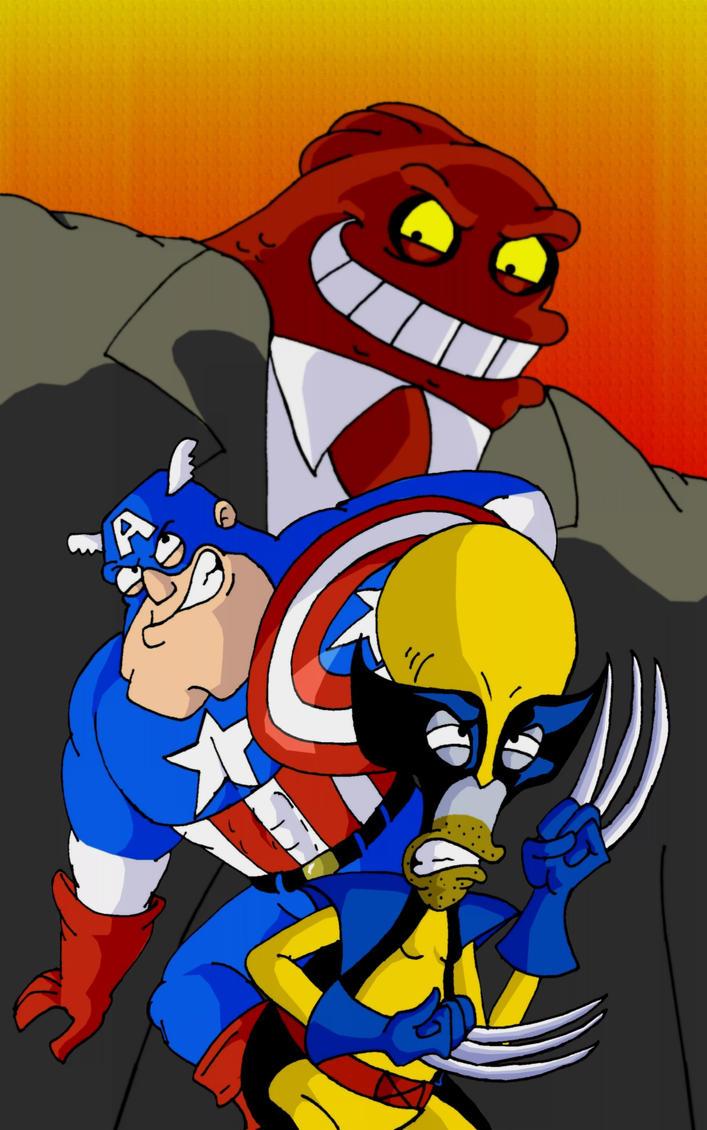 American Heroes by mightyfilm