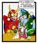 Robot Masters Bad Manners