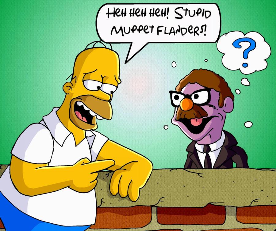 Homer meets Herbert by mightyfilm