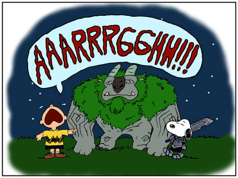 It's the Trollhunter, Charlie Brown