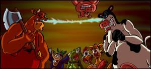 Battle of the Barnyard Big Guys