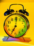 Technicolor Clock 3203331