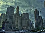 Chicago Skyline 13012998