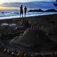 Sand Castle 10505498 by StockProject1