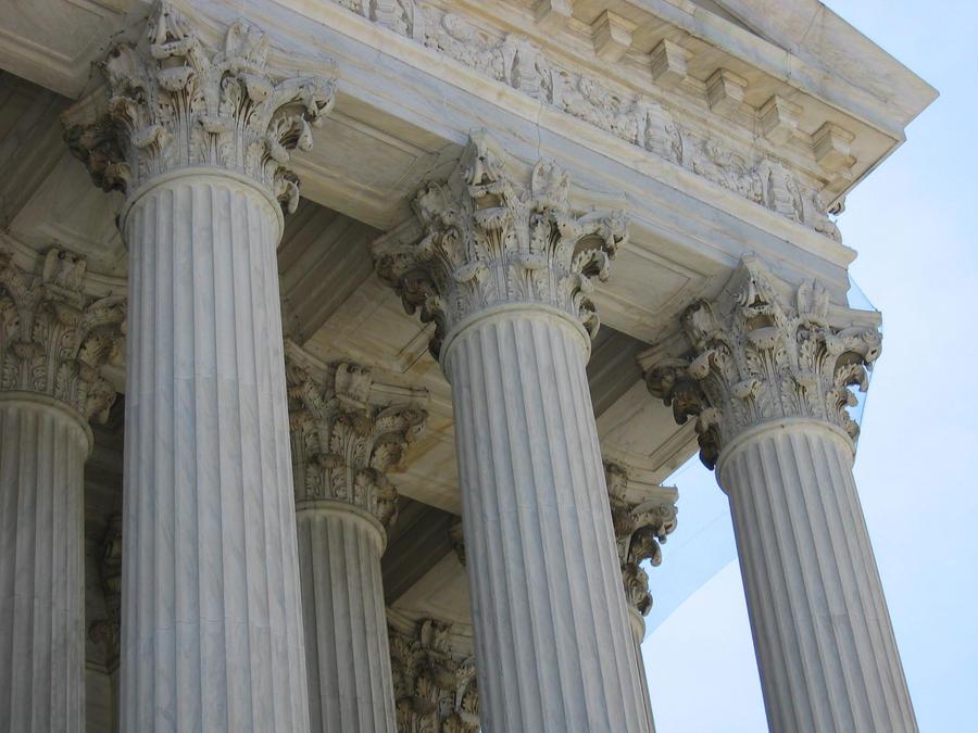 Indoor Column Styles : Marble pillars by stockproject on deviantart