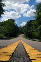Empty Road 13763804 by StockProject1