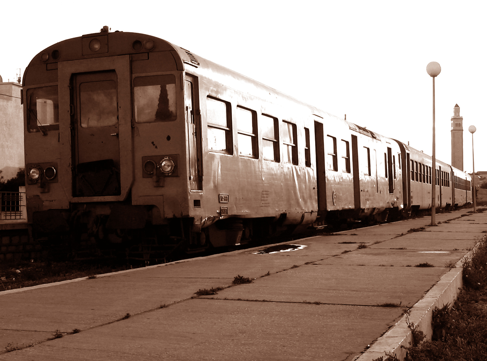 Sepia Train 226020 by StockProject1