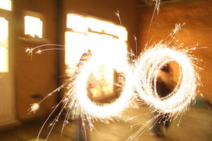 Sparks Fly 5126475 by StockProject1
