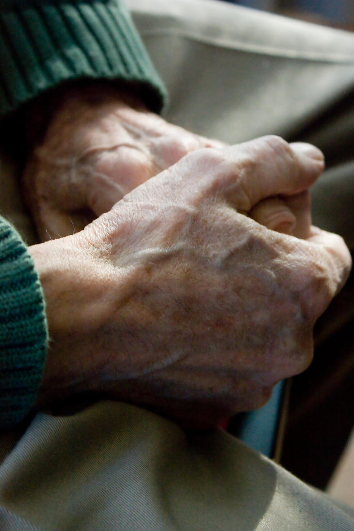 Elderly Hands 13912918 by StockProject1