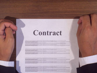 Signing Contract 12602235 by StockProject1