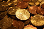 Copper Coins 14426650 by StockProject1