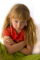 Pouting Child 12865893 by StockProject1