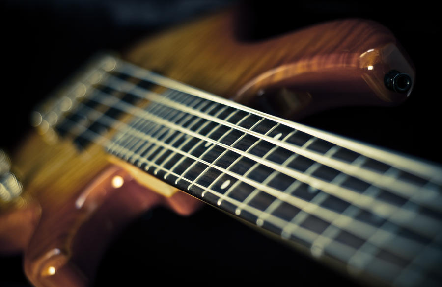 Bass Guitar 14265384 By StockProject1