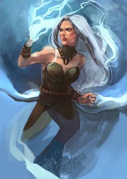 Commission- Ice queen Atevora