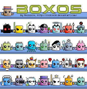 Boxos - See Them All + More by rocksicle