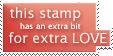 Extra Love Stamp