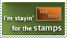 Stayin' Stamp by rocksicle