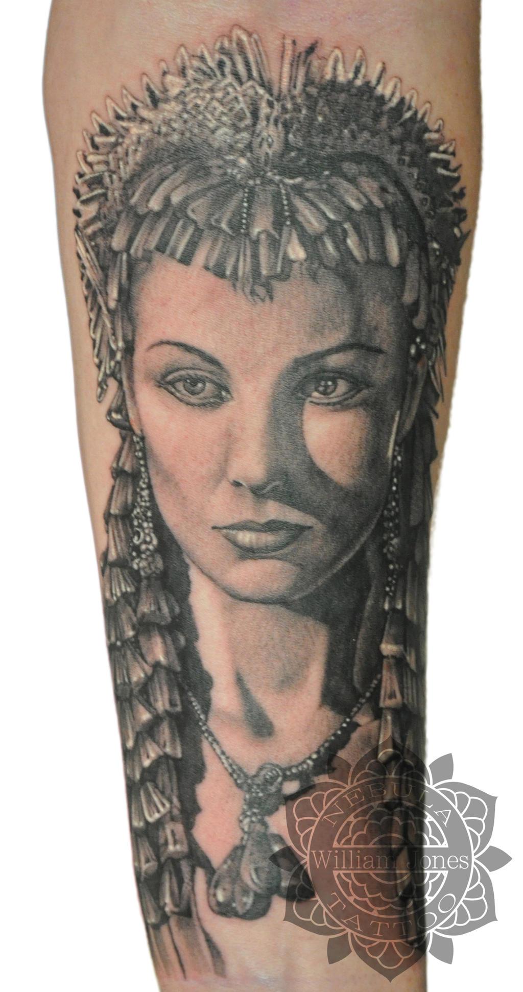 Cleopatra Tattoo by nebulatattoo on DeviantArt