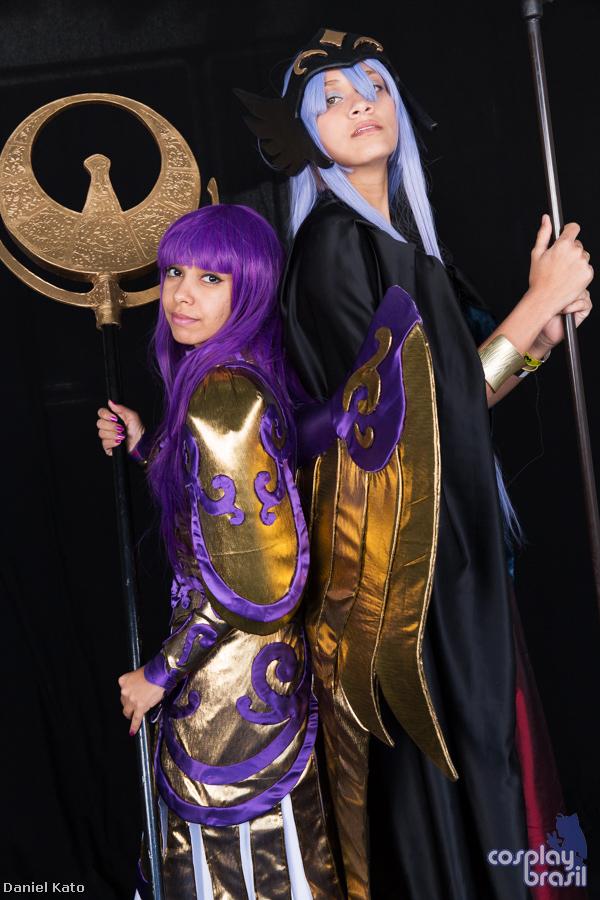 Saori and Hilda by Tamy-chan-tsuki