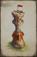 Tower Concept by Mirchaz