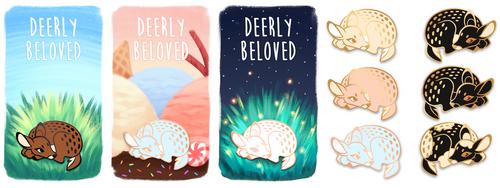 Dearly Beloved Enamel Pin Kickstarter!! by NauroK