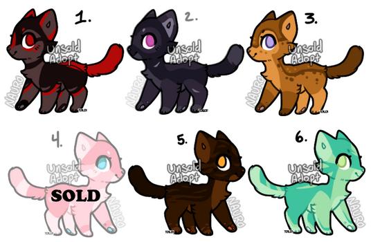 Itty Bitty Kitty Adopts (5/6 open)
