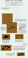 Eye Tutorial by NauroK