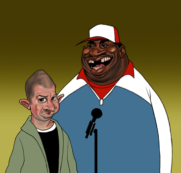 patrice o 39 neal and jim norton by lllatthias on deviantart. Black Bedroom Furniture Sets. Home Design Ideas