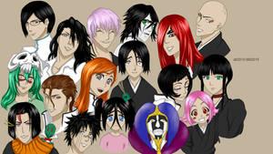 Bleach Characters - Color (+ Speedpaint)