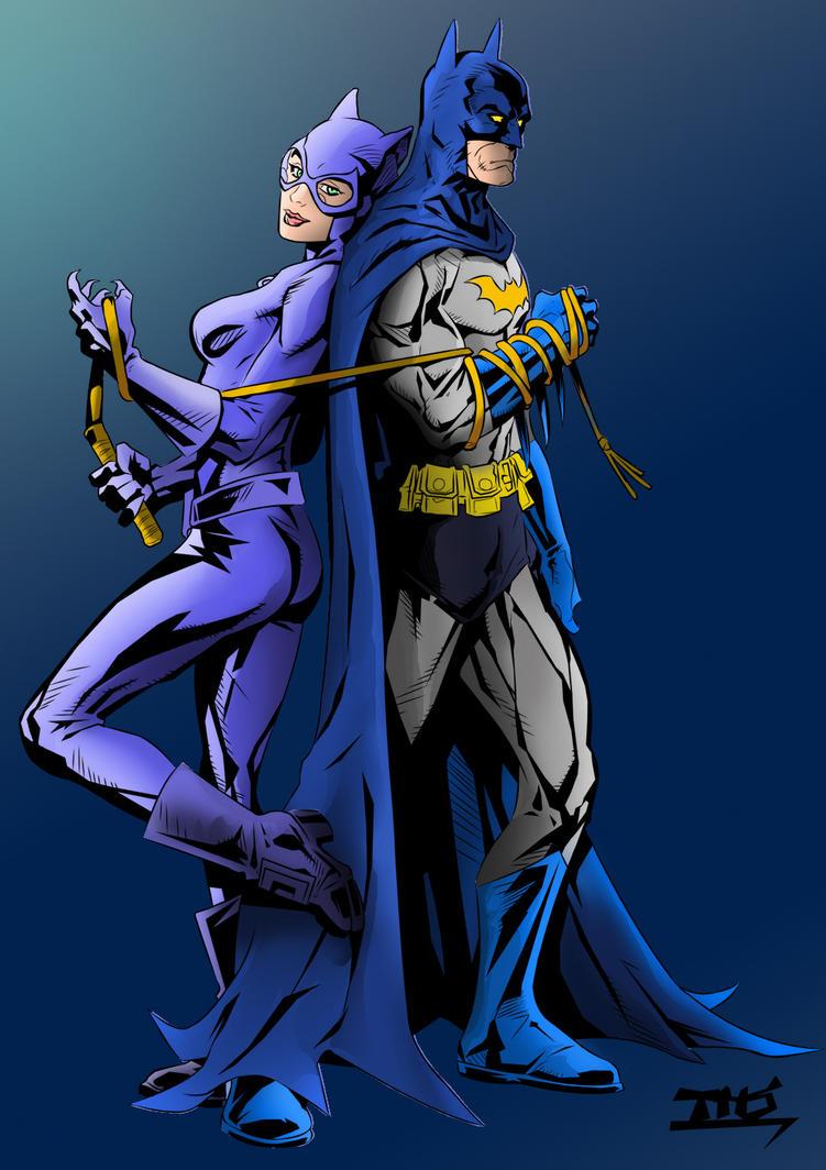 Batman And Catwoman by Echudin on DeviantArt