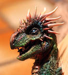 Horned Dragon by akeyla