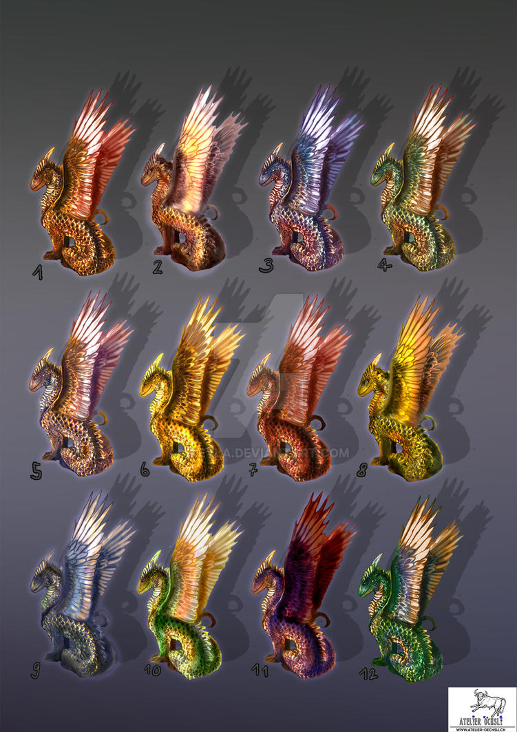 Color patterns for Galun by akeyla