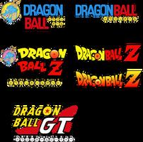 Dragon Ball Logos by camarinox
