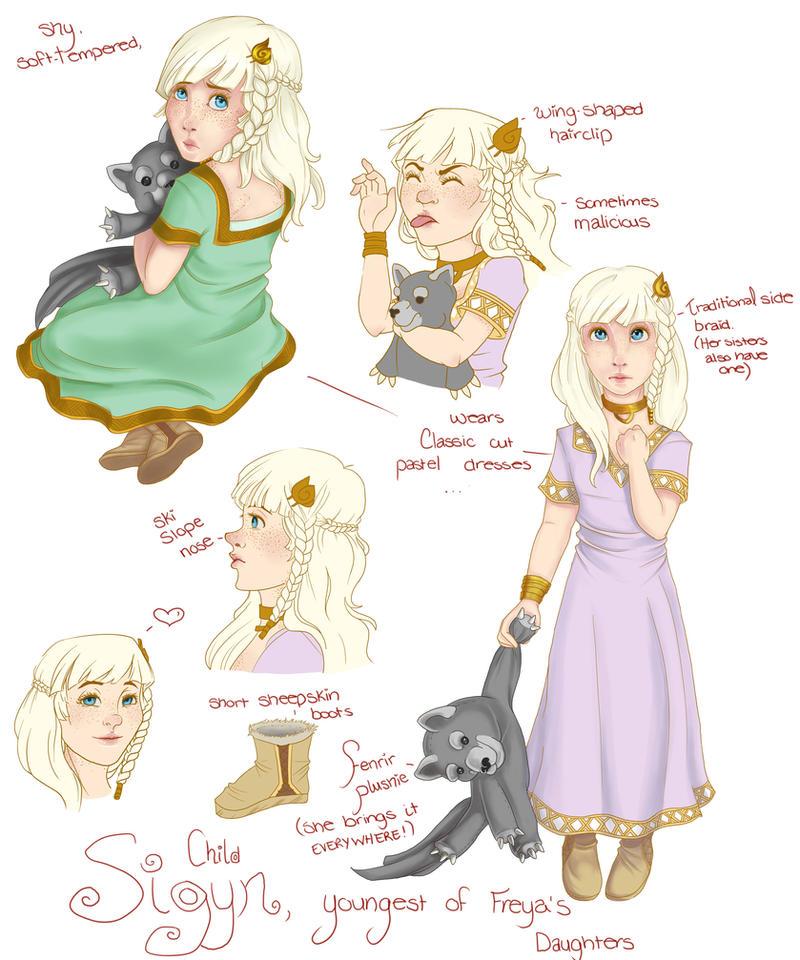 Sigyn, daughter of Iwaldi by AryaMaya