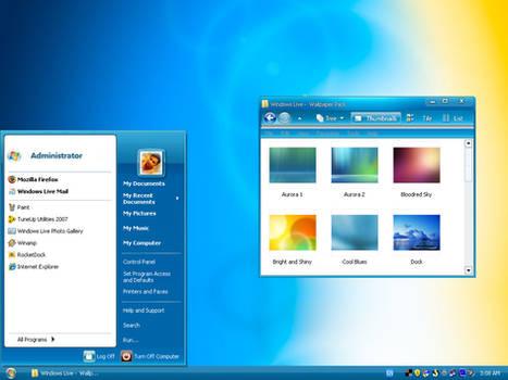 Windows Live XP -Bluerise