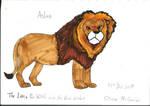 Aslan by omcgeachie