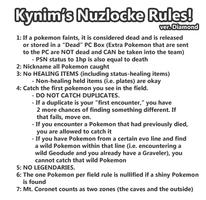 Nuzlocke Diamond: My Rules by ky-nim