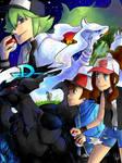 Pokemon: Black and White Mural