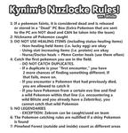Nuzlocke White: My Rules by ky-nim
